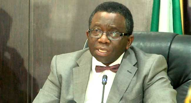 Minister of Health Professor Isaac Adewole