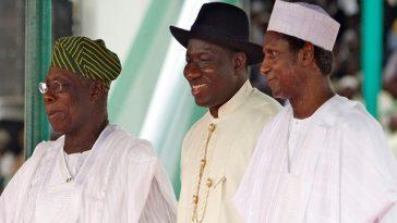 Obasanjo, Yar'adua, Jonathan