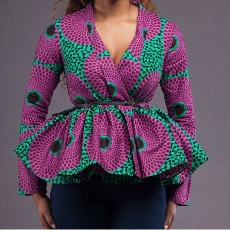 ankara-peplum-top
