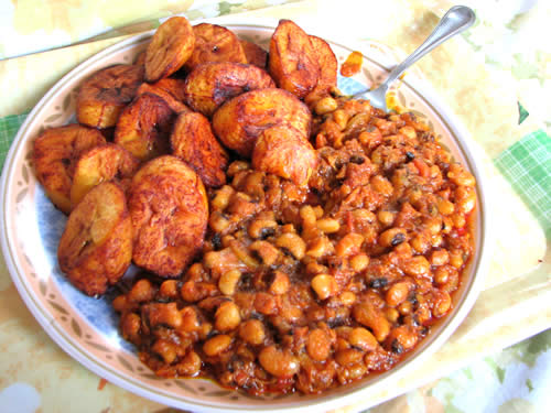beans-and-plantain
