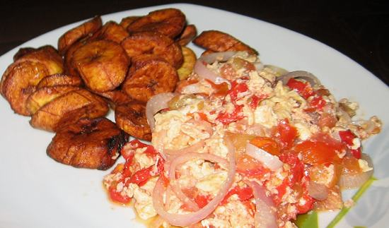 plantain-and-fried-egg