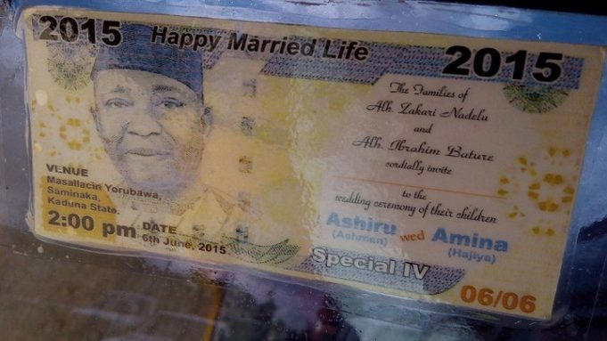 Checkout These Hilarious Nigerian Wedding Invitation Cards