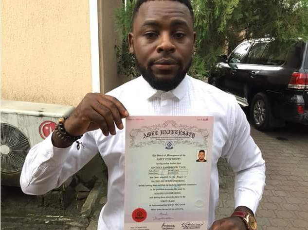 Nigerian Student On Scholarship Graduates With A First Class Degree In  Indian   How Nigeria News  First Class Degree