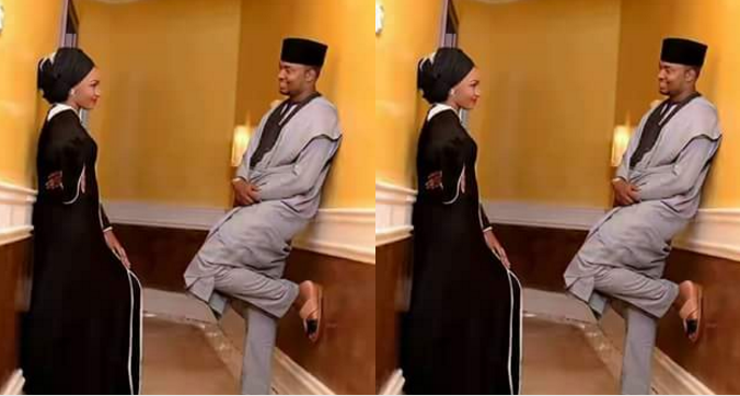Image result for Pre-Wedding Photo Of Zahra Buhari And Ahmed Indimi