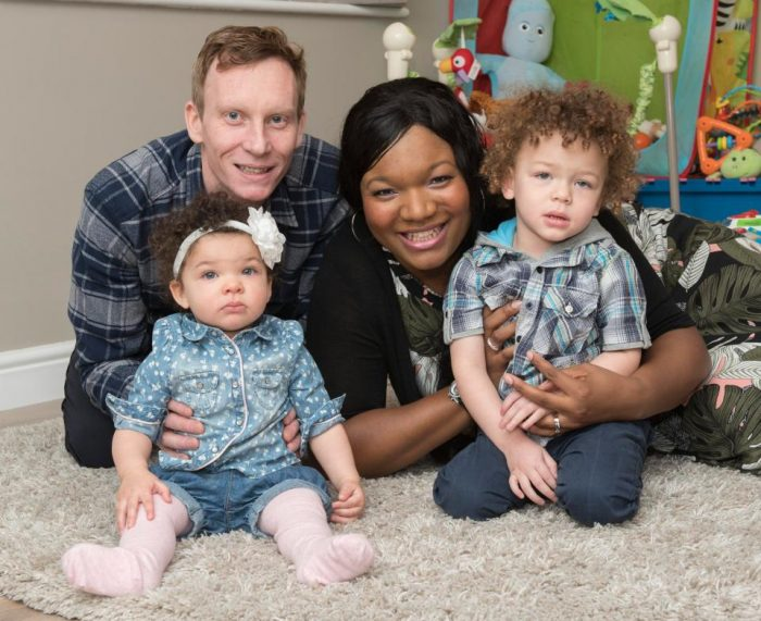 Wow!!! Nigerian Mother Becomes Only Black Woman In The