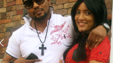 Gifty with her alleged husband