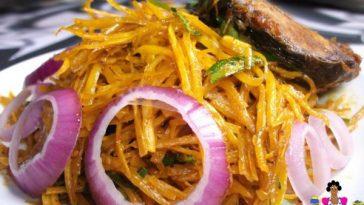 Nigerian Salad Abacha