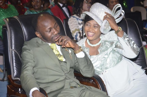 Apostle Sulemans Wife Gets Multimillion Naira School As Surprise Birthday Gift From Husband