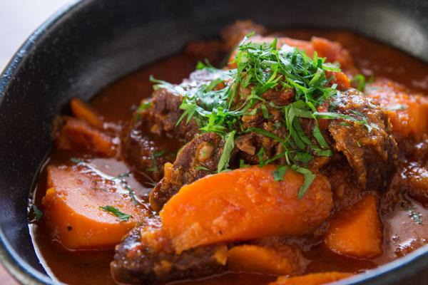 Nigerian Carrot Beef Stew
