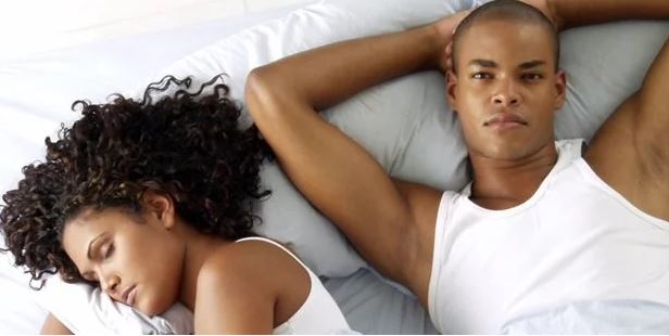 signs a woman slept with another man
