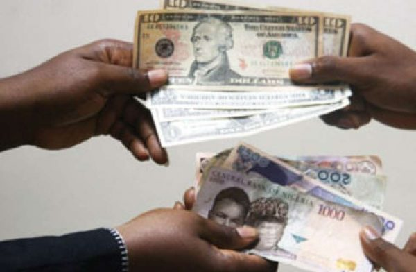 Naira for dollar