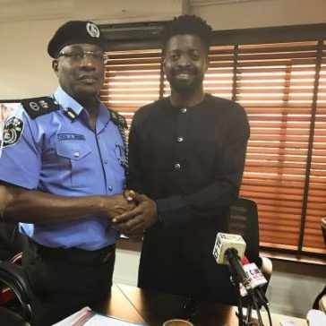 Basketmouth and lagos state police commissioner