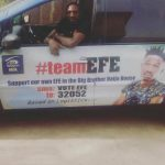 Efe, bigbrother naija, vehicle
