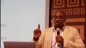 Emeka Okoye at a seminar