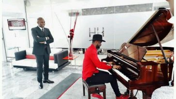 Peter Okoye Thrills Billionaire, Tony Elumelu