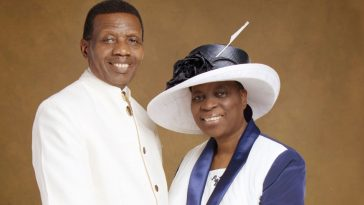 adeboye and wife, adeboye throwback