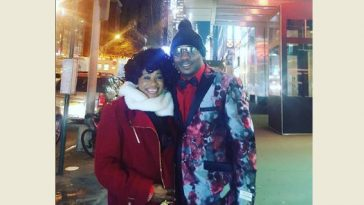 Clarion Chukwurah and husband