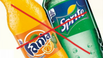 Don't drink Sprite and fanta