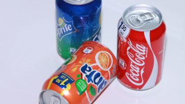 fanta, coca cola and sprite
