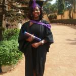 first class graduate Tessy