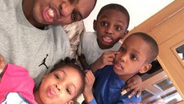 Nigerian Footballers And Their Cute Kids