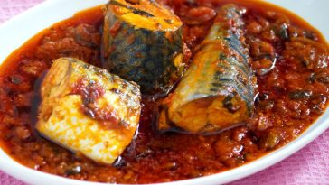mackerel stew