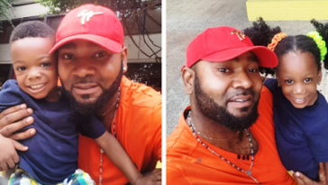 Prince Eke celebrates 3rd birthday of his twin children