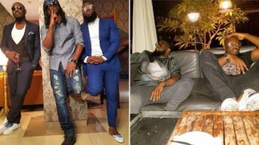 Jim iyke, peter okoye and timaya