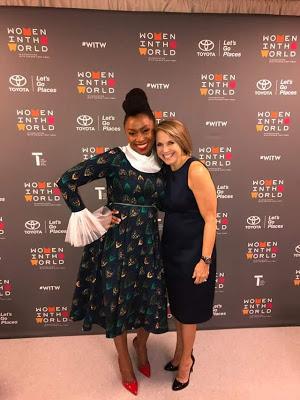 Adichie at new york woman summit