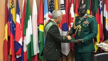Chief Of Army Staff, Lt. Gen. Buratai