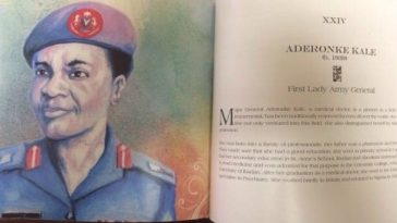 Major General, Aderonke Kale