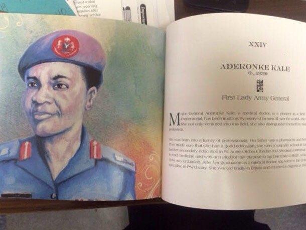 Image result for Major General, Aderonke Kale
