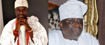 Ooni of Ife n Oba of Lagos
