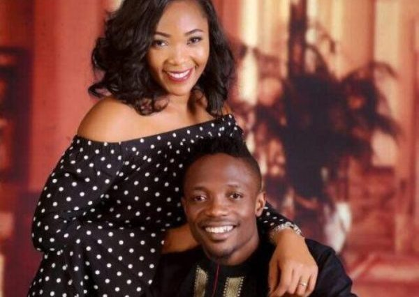 Footballer Ahmed Musa and his girlfriend
