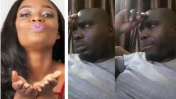 Chris Ayo Weeps Over Bisola's Loss