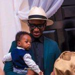 Bez Idakula and his son Joshua