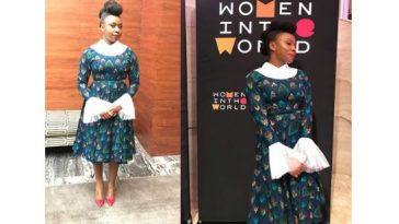 Adichie at new york woman summit