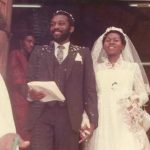 Throwback photo of Ondo State Governor Akeredolu and wife, Betty