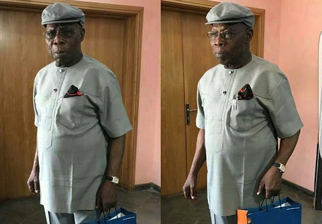 Ex-President Olusegun Obasanjo Looking Super Dapper, Doper In New Photos