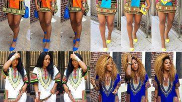 african tunic dress