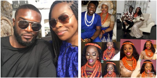 Ex-Mr Nigeria, Kenneth Okolie Weds His US Based Girlfriend In Grand Traditional Celebration