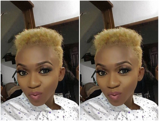 Waje goes blonde