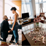 Adesua Etomi and Banky W are Engaged