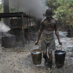 Illegal Refinery in Niger Delta