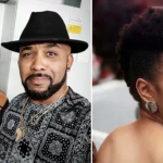 Adesua Etomi's Reaction After Seeing Her Husband 'Banky' With Her Crush, 'Jidenna'