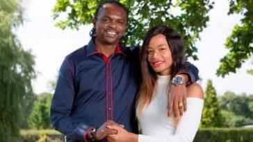 Footballer Nwankwo Kanu and wife Amara