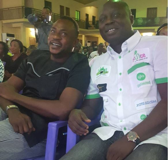 Odunlade Adekola And Mr Latin