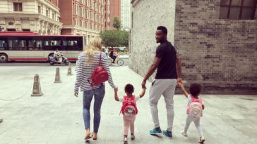 Mikel Obi & Girlfriend Olga