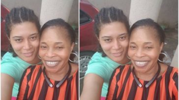 actress Adunni Ade and Gospel Singer Tope Alabi look without makeup