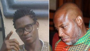 Nigerian Biafran Agitator Declares Nnamdi Kanu As His Own Jesus